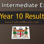 Fiji year 10 certificate examination 2018 results