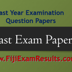 Fiji Past Exam Papers 2018/2019