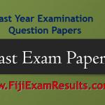 Fiji Past Exam Papers 2018/2019