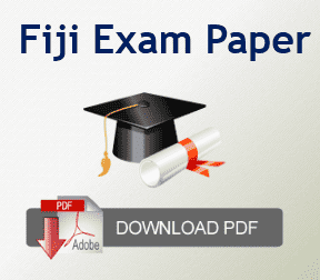 Fiji Past Year Papers 2020